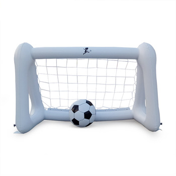 цена на Inflatable Soccer Goal PVC Football Net Outdoor inflatable Beach ballportable child inflatable toy Play parent-child interaction