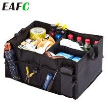 Boîte de rangement de cargaison pliable Super forte et Durable qui respecte l'environnement d'organisateur de coffre de voiture pour la boîte de coffre de SUV de camions automatiques