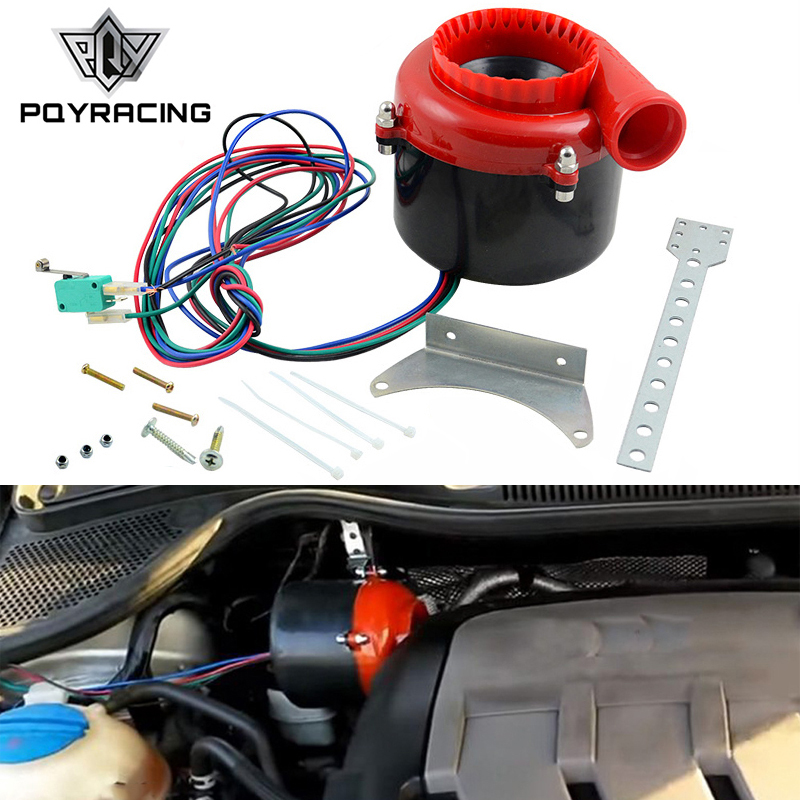Universal eletrônico turbo carro falso válvula de descarga turbo sopro fora da válvula de som elétrico turbo sopro fora analógico som bov