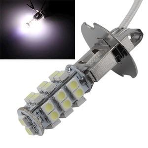 Image 1 - 3w DC12V White H3 28SMD 3528 1210 led light led lamp light 3w led Lamp Turn Signal Light Headlight Fog Lamp 2PCS