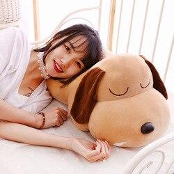 Nuevo estilo sentado perro juguetes de peluche Snot perro almohada extremadamente suave tarjetas de muñeca
