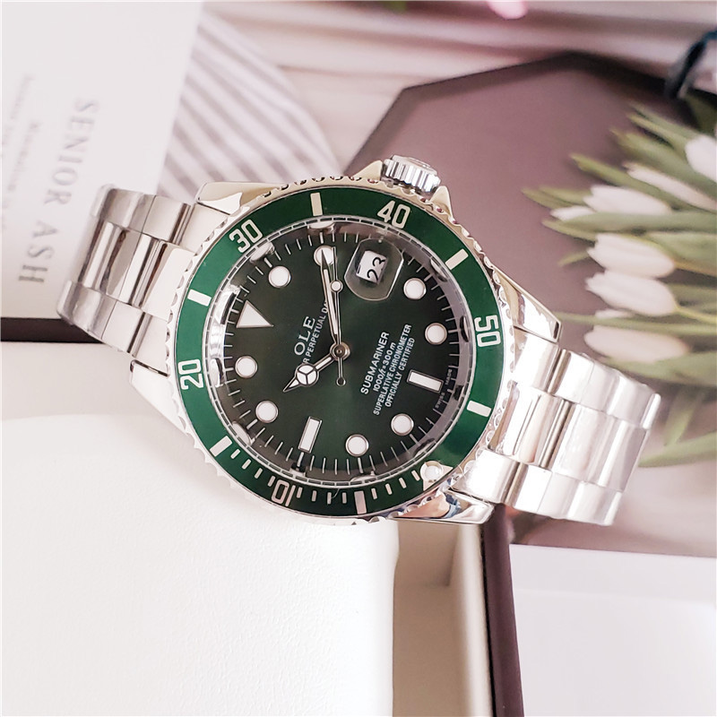 2020 Men Mechanical Wrist Watches Luminous Stainless Steel Business AAA Watch Luxury Brand Sports Men Wrist Watch Rolexable