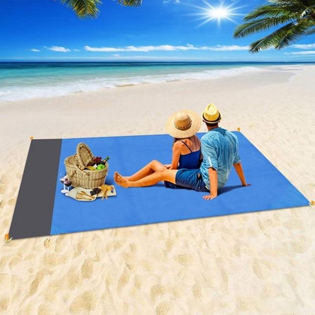 Lightweight Sand Free Beach Mat  2