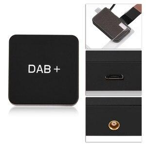 Image 4 - عدة سيارة بث الصوت الرقمي DAB DAB + صندوق استقبال راديو محول مع هوائي لاستقبال أندرويد
