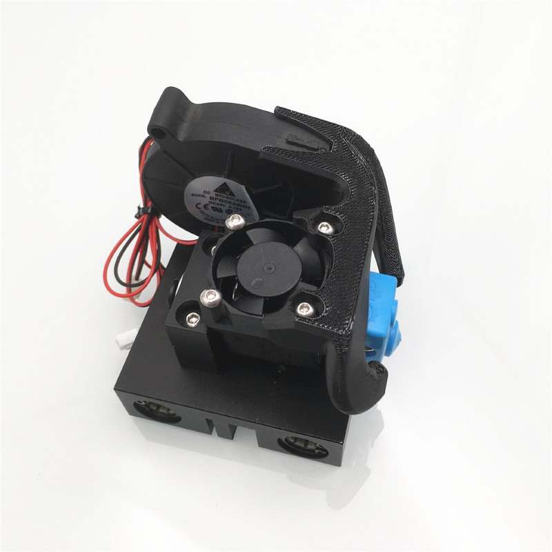 Image 3 - Funssor Anet A8 Prusa 3D Printer X carriage V6 bowden hotend  Upgrade bowden extruder mount kit3D Printer Parts