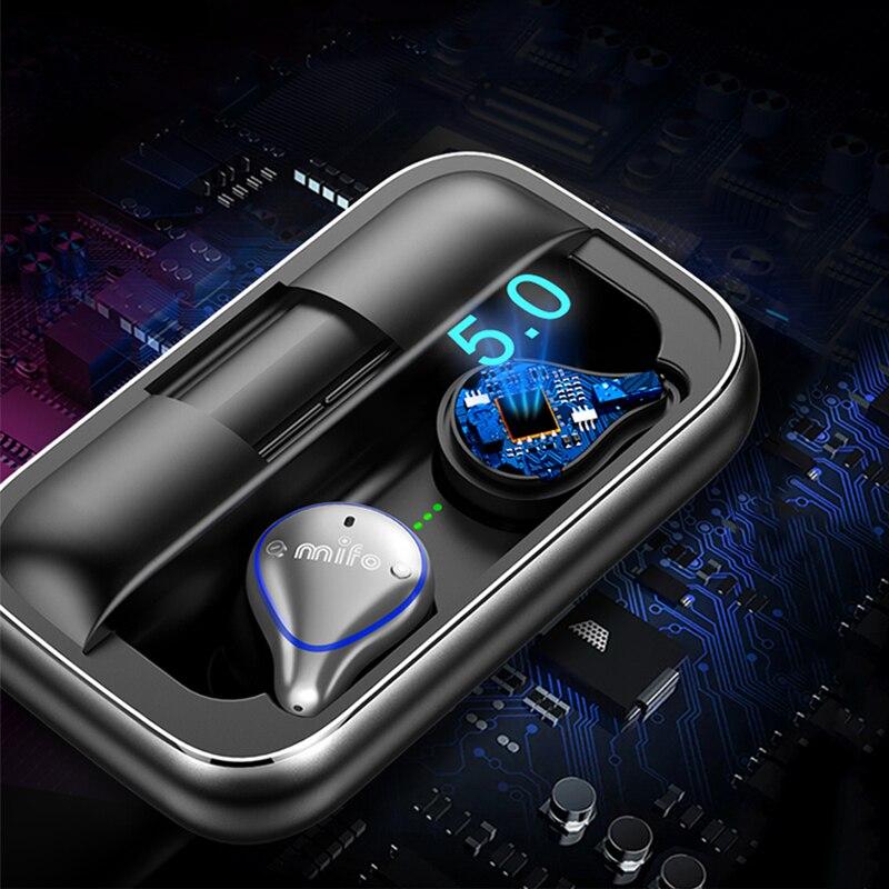 Sabbat, оригинал, E12, TWS, Bluetooth 5,0, беспроводные наушники, Hi Fi, стерео, шумоизоляция, наушники, спортивные наушники и чехол для зарядки - 2