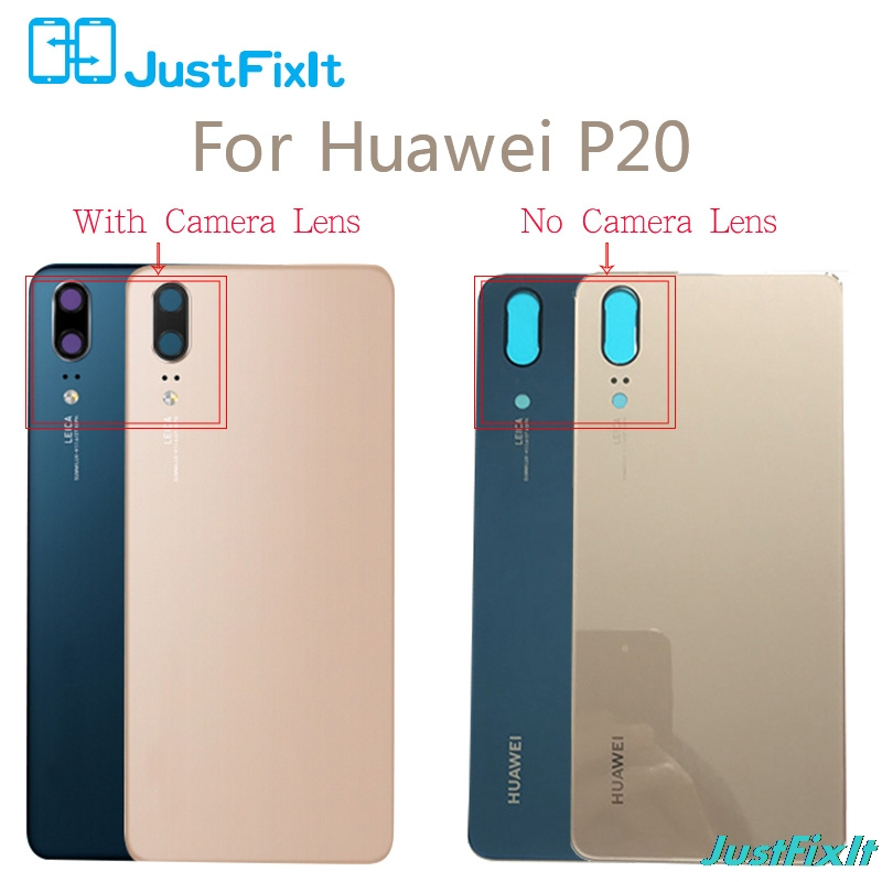 For Huawei P20 Battery Cover Door Back Housing Rear Case Huawei P20 Battery Door Replacement Parts