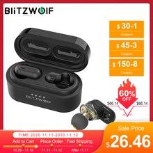 [Dual Dynamic Driver] Blitzwolf BW FYE7 TWS Earbuds Bluetooth 5.0 Earphones In ear Wireless Earphone Pro Bass Stereo Hifi Music
