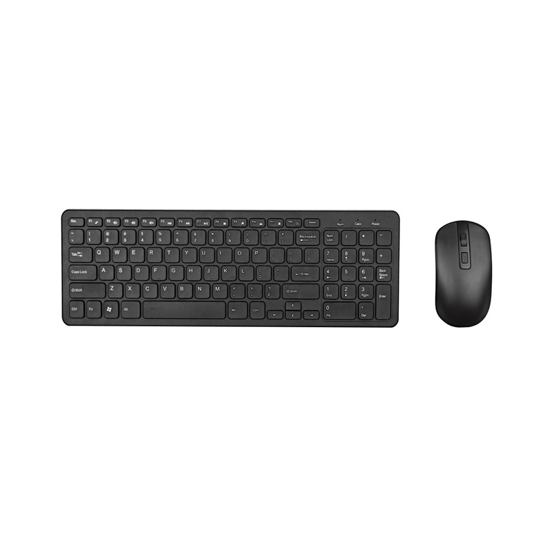 2.4G Optical Wireless Keyboard Mouse Kit Wireless Mouse Usb Receiver Combo For Macbook Pc Laptop Portable Ultra Thin Office Suit