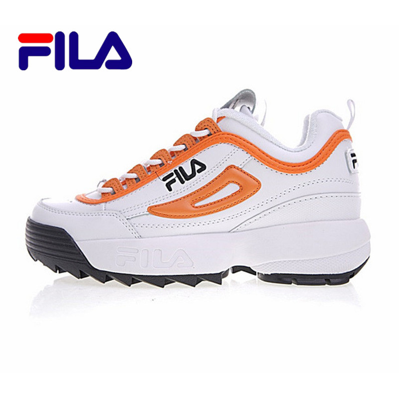 2018 FILA Disruptor 2 Sneakers Cushioning Women Running Shoes Breathable Shoes  Size 36-44