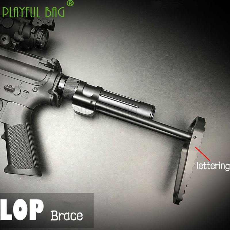 Playful Bag Outdoor Water Bullet Competitive Brace/buttstock Sima SLR Jinming Gen Telescopic Buffer Tube LOP Tactical Brace KD80