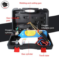 Torch Set Refrigeration Repair Tool 2L Air Conditioning Gas Welding Welding Cutting Gun Refrigeration Repair Welding Equipment