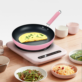 24/26/28/30cm Non-stick Healthy Frying Pan No Oil Smoke Potgas Stove Cookware General Grill Smokeless Kitchen Cooking Pan wok