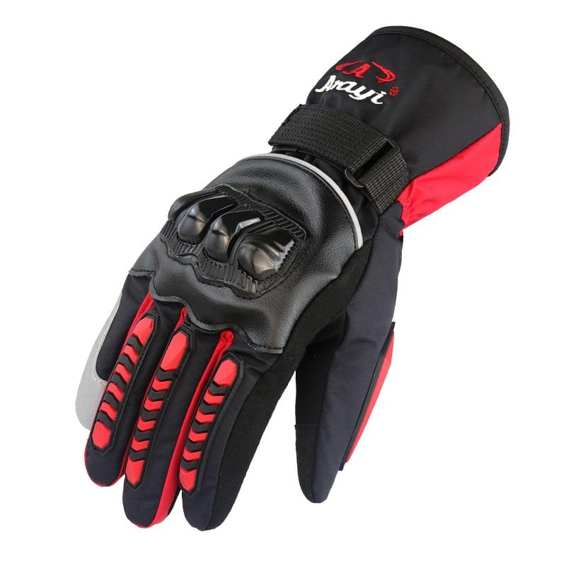 motorcycle gloves 100/% Waterproof windproof Winter warm Touch Screen