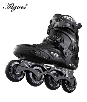 Roller Skates Inline Adult Men and Women Professional PU 4 Wheels Skating Sneakers Boots Adjustable Size  4 tekerlekli paten цена 2017