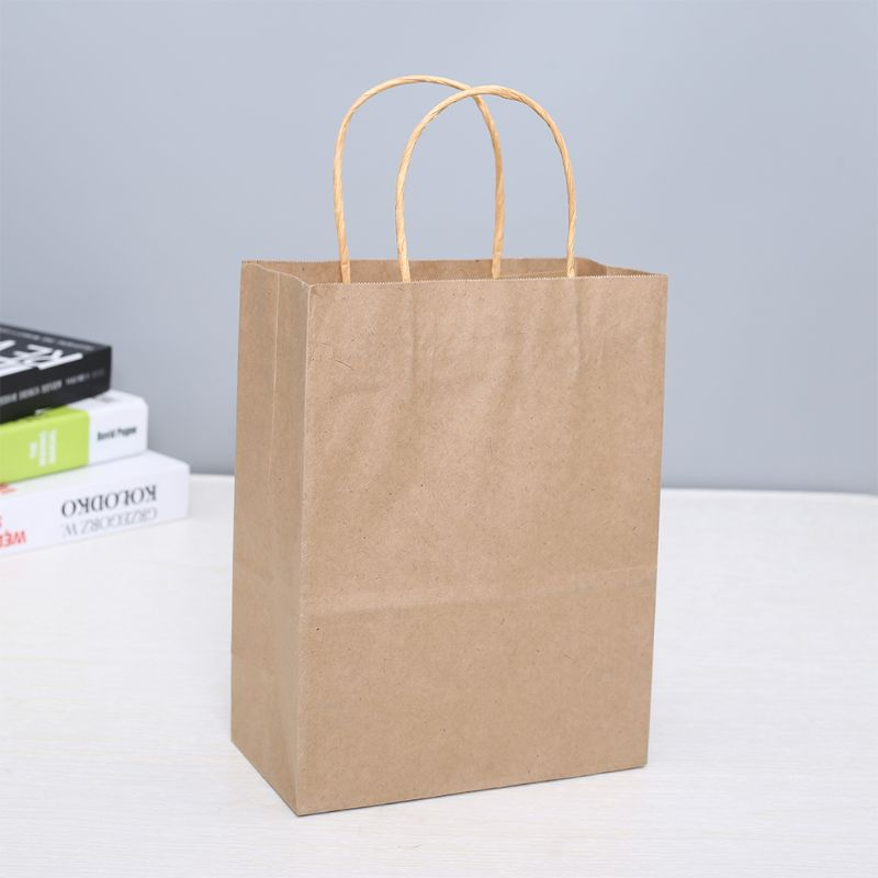 Paper Bags 50 Pcs Gift Bags, Party Shopping Kraft Retail
