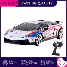 Conusea rc carros 4wd 1:16 carro de controle remoto 2.4ghz lamborghini alta velocidade carro de corrida fora da estrada rc deriva carro veículo brinquedos para crianças