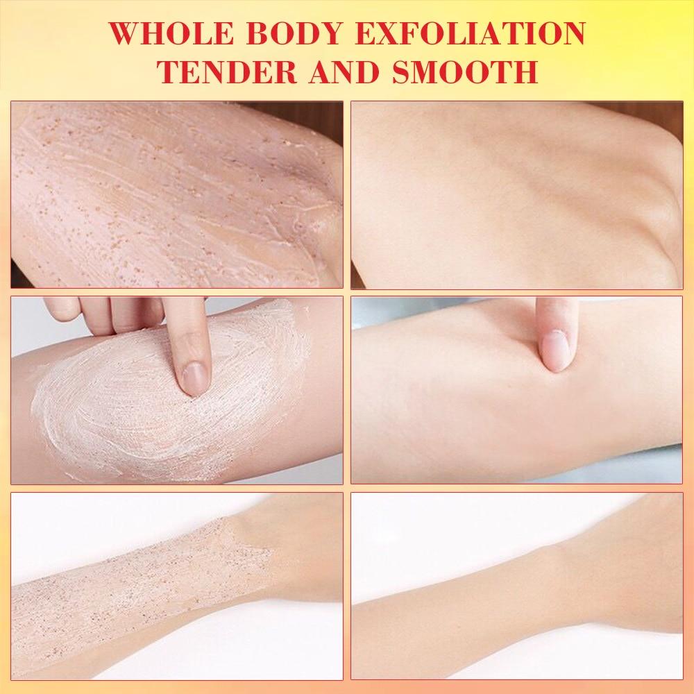 400g Facial And Body Exfoliator Face Scrub Natural Organic Peeling Exfoliating Moisturizer Body Exfoliante Beauty Cream 2