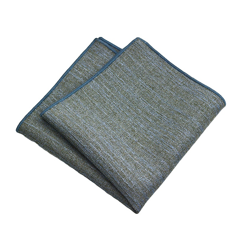 2019 New Men's Handkerchief Fashion Solid Handkerchief Towels Men Pocket Squares Towels Suits Pocket Hankies Towel For Wedding