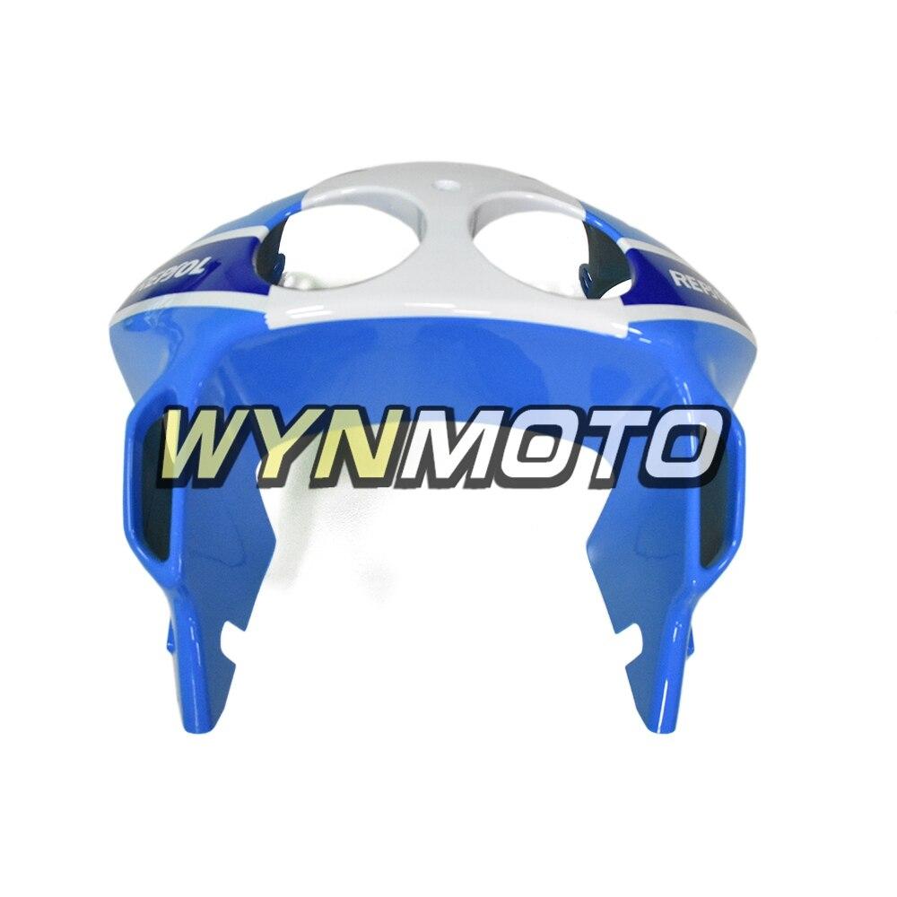 Repsol сине белые Обтекатели для Honda CBR250RR 1990 1994 впрыск АБС пластмасса MC22 90 91 92 93 94 Кузов Мотоцикл охватывает - 2