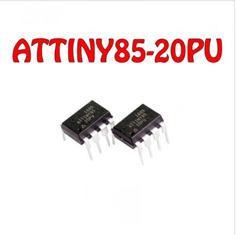 Компьютер с регулятором напряжения, Φ ATTINY85 20PU ATTINY85-20 ATTINY85 DIP Noenname_null MW