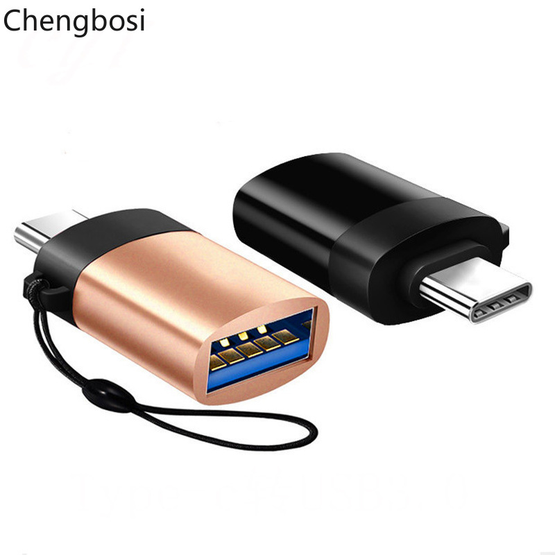 Type C Adapter Type-C To USB 3.0 OTG Cable Adapter Type C Converter For Samsung S8 S9 Huawei Mate 9 USB C Tablets OTG Adapter