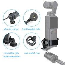 Multifunktionale Erweitert Adapter Halterung Unterstützung Kits mit 1/4 Gewinde Loch für FIMI PALM Handheld Sport Kamera Zubehör