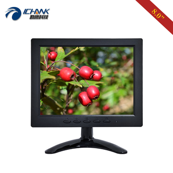 "ZB080JN-7051/8"" inch 800x600 4:3 Portable Mini AV BNC VGA Signal Industrial Medical Microscope Small Monitor LCD Screen Display"