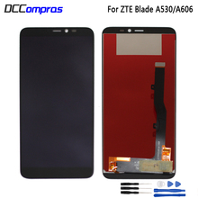 For ZTE Blade A530 LCD Display Touch Screen Digitizer Assembly For ZTE Blade A606 Screen LCD Display Repair Patrs free shipping black white top quality repair parts for zte blade l2 lcd display touch screen digitizer assembly