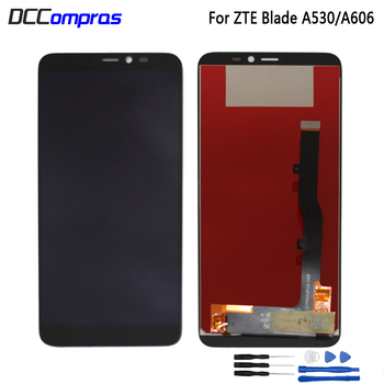 Original For ZTE Blade A530 LCD Display Touch Screen Digitizer Assembly For ZTE Blade A606 Screen LCD Display Repair Patrs highest quality for zte blade z7 x7 v6 d6 t660 t663 lcd screen display touch screen digitizer assembly free shipping