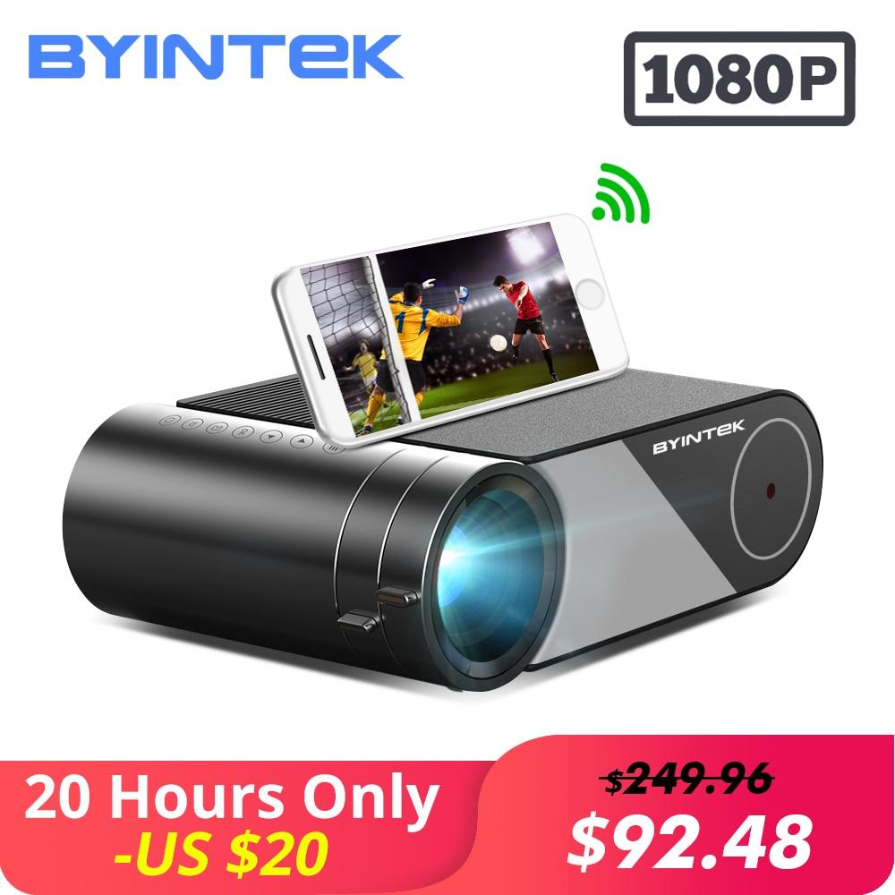 BYINTEK SKY K9 720P 1080P LED Portable Home Theater HD Mini Projector Option Multi Screen For