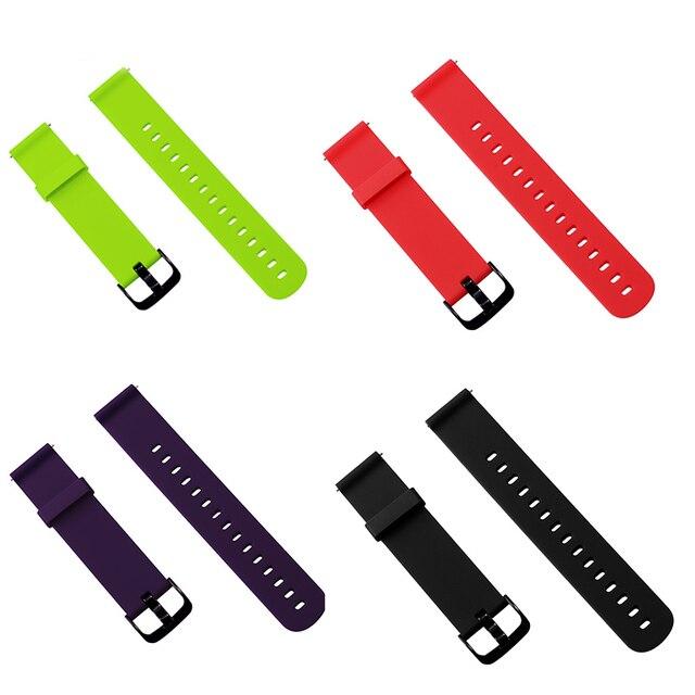BOORUI pasek silikonowy do huami Amazfit Bip tempo Lite bransoleta ze smartwatchem akcesoria do inteligentnego zegarka z modnymi kolorami