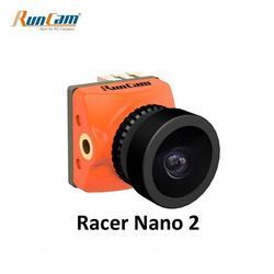 RunCam RACER NANO 2 CMOS 700TVL 1.8 มม./2.1 มม.Super WDR ขนาดเล็ก FPV กล้อง 6ms Latency ต่ำการควบคุมท่าทาง OSD สำหรับ RC Drone