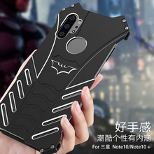 R JUST Case For Samsung Galaxy S20 Ultra Note 10 Case BATMAN Armor Heavy Duty Metal Aluminum Cover For Samsung Note 10 Plus Capa