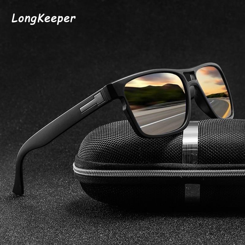 Polarized Sunglasses Men Movement Designer Driving Sun Glasses Women Vintage Anti-UV Driver Black Goggles Eyewear Gafas De Sol