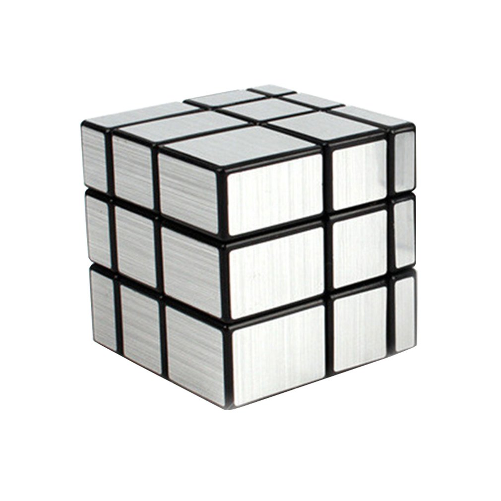 Magic Mirror Cube Professional Gold Silver Cubo Magico Cast Coated Puzzle Speed Twist Learning And Education Toys