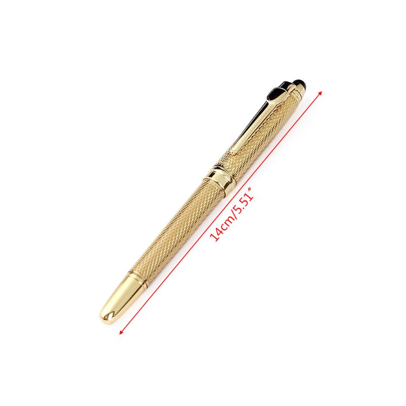0 5mm Luxury Ballpoint Pen Business Signature Rollerball Business Office Supplies Stationery Writing Gift in Ballpoint Pens from Office School Supplies