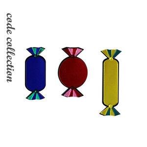 3 шт./компл., акрил, 3 цвета, набор конфет, броши для женщин, большая смола, ацетат, брошь с кристаллами, булавки, милый Брош, сумка, аксессуары, п...