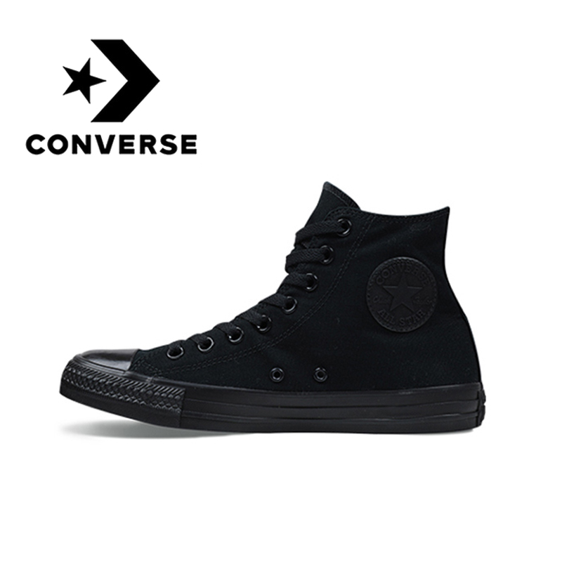 Converse All-star Skateboard Shoes Men's Classic Unisex Canvas High-top Sneakers Breathable Light Comfortable And Durable 1Z588