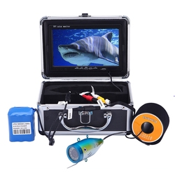 30M 1000TVL Color Underwater Camera for Fishing Infrared IR LED 7 Inch Video Monitor Fish Finder Ice Fishing Camera EU Plug