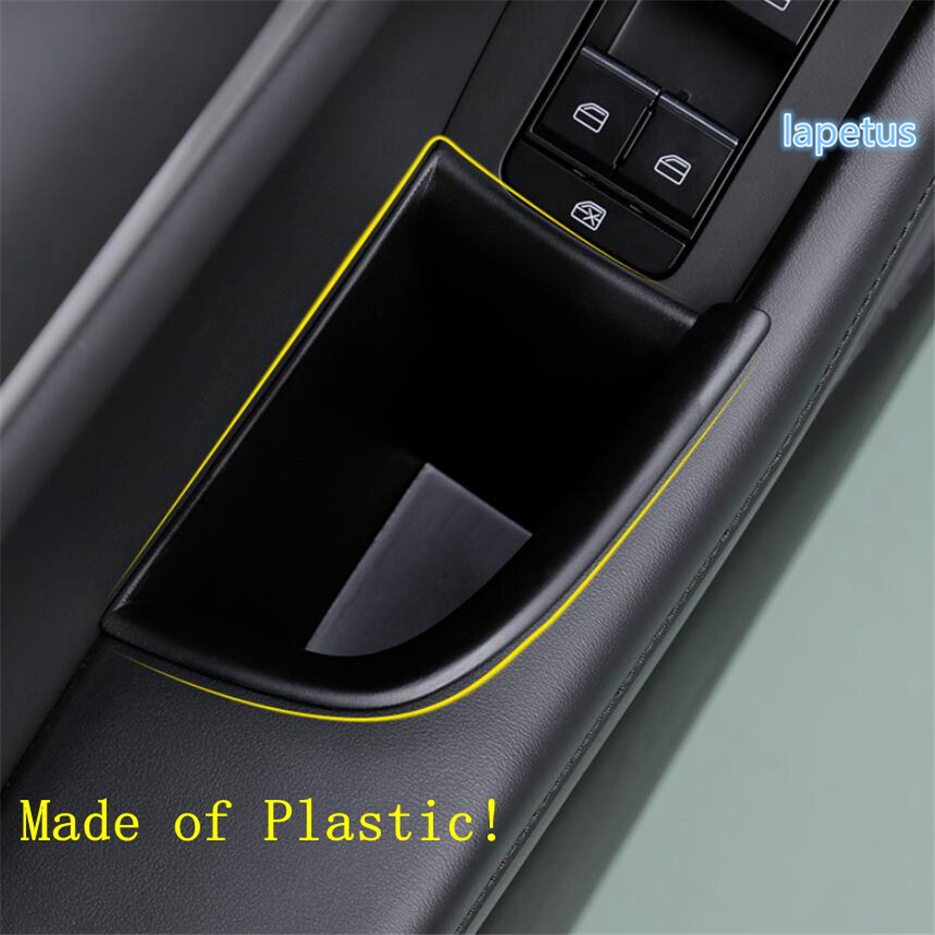 Car Black Armrest Storage Box Holder For Lexus RC 2014-2016