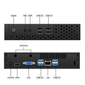 S1 Мини ПК intel core i3 10100 i5 10400 i7 AMD ryzen r3 3200G r5 3400G игровой настольный компьютер windows 10 linux ddr4 двойная ram