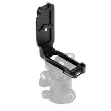 שחרור מהיר CNC אלומיניום סגסוגת מקצועי מהיר טעינת L סוגר הר צלחת עבור ניקון D850 מצלמה צילום אבזרים