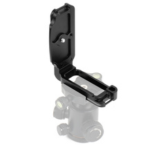 Quick Release CNC Aluminum Alloy Professional Fast Loading L Bracket Mount Plate for Nikon D850 Camera Photography Accessories