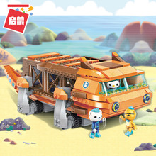 Octonauts Building Block GUP-G Mobile Speeders Launcher & Barnacles kwazii peso 378pcs Educational Bricks Toy For Boy Gift