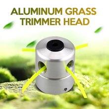 Алюминиевая Головка триммера для травы с 4 линиями головка кустореза