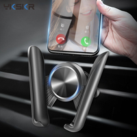 Soporte de gravedad para teléfono de coche, montaje de salida de aire para iPhone 8 X Samsung s20, rotación de 360 grados, accesorios para coche