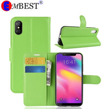 EMBEST For Blackview A7 A20 A9 A10 A30 Pro Luxury Wallet Leather Stand Phone Case For Blackview R6 P2 E7/E7S A8 MAX R7 A7 P6(China)