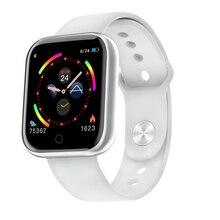 Reloj inteligente deportivo para Android e IOS, reloj inteligente deportivo resistente al agua con control del ritmo cardíaco y de la presión sanguínea para hombre y mujer