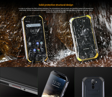 DOOGEE S40-Lite IP68 Rugged Phone Mobile Phone Quad Core 2GB 16GB Android 9.0 5.5inch Display 4650mAh 8.0MP Fingerprint
